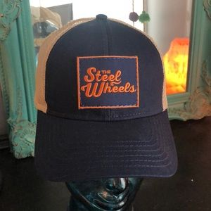 Snap back hat - The Band The Steel Wheels